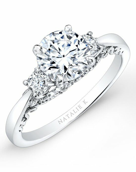 Natalie K Renaissance Collection  Nk26662w Engagement. Massive Rings. Strand Wedding Rings. Mens Cable Wedding Engagement Rings. Nature Lover Wedding Rings. 7 Stone Rings. Plain Silver Engagement Rings. Pointed Wedding Rings. Diamond Canadian Engagement Rings