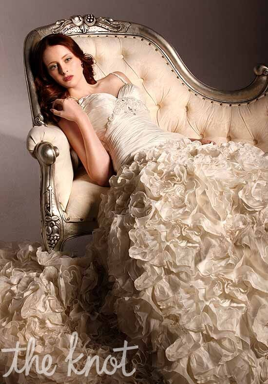 Martina liana 296 wedding dress the knot for The knot gift registry