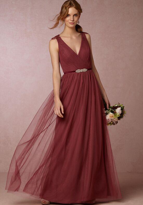 Bhldn Bridesmaids Pippa Dress Rusty Rose Bridesmaid