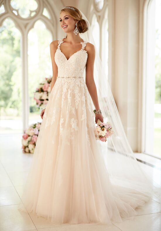 Stella york 6144 wedding dress the knot for The knot gift registry