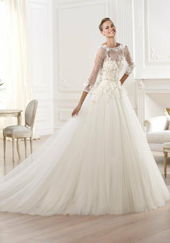 Elie saab pronovias wedding dress prices flower girl dresses for Cost of cleaning wedding dress