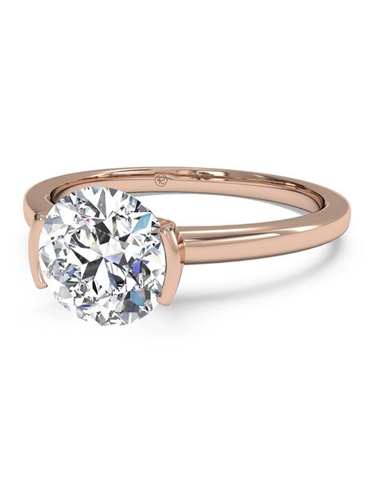 rose gold engagement rings - Gold Diamond Wedding Rings