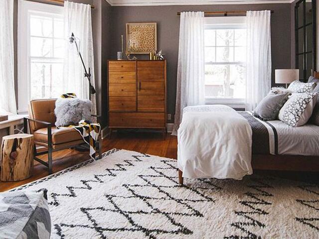 southwest chic bedroom