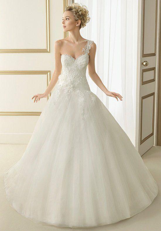 Wedding Dresses  Luna : Luna novias estela wedding dress the knot