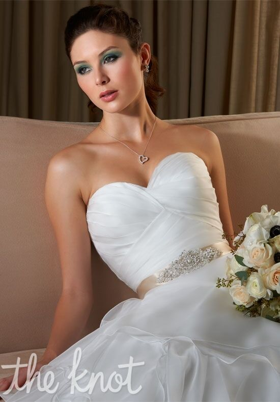 Bonny bridal 232 wedding dress the knot for The knot gift registry