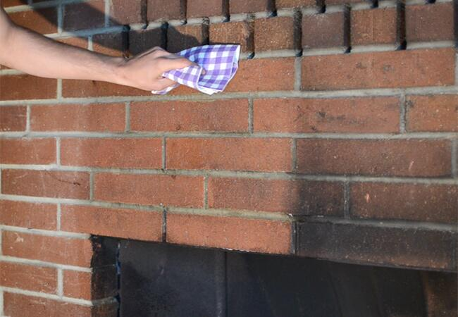 clean sooty fireplace tips - Clean A Sooty Fireplace With Salt And Soap