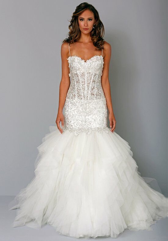 Pnina tornai for kleinfeld 4242 wedding dress the knot for Wedding dresses the knot
