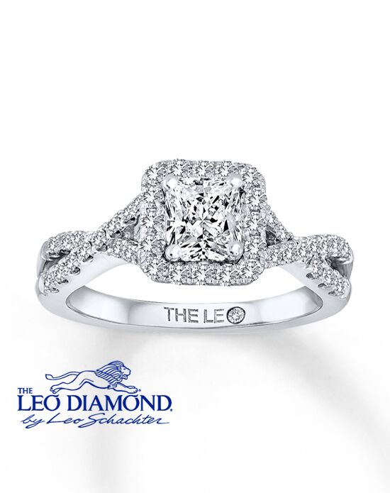 The Leo Diamond 991470218 Engagement Ring - The Knot