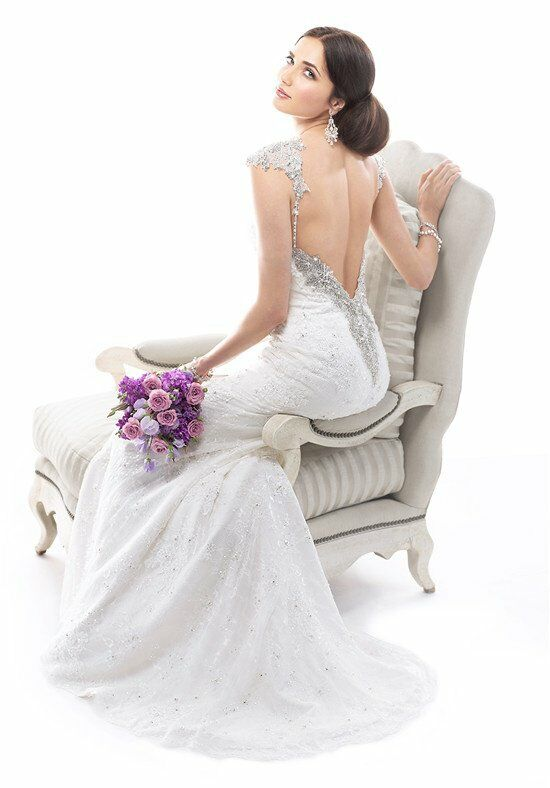 Maggie sottero brandy wedding dress the knot for The knot gift registry