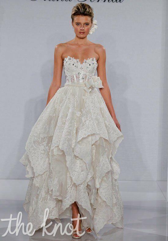 Pnina tornai for kleinfeld 4144 wedding dress the knot for The knot gift registry