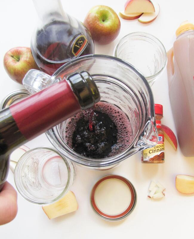 Fall Spiced Red Wine Sangria Recipe