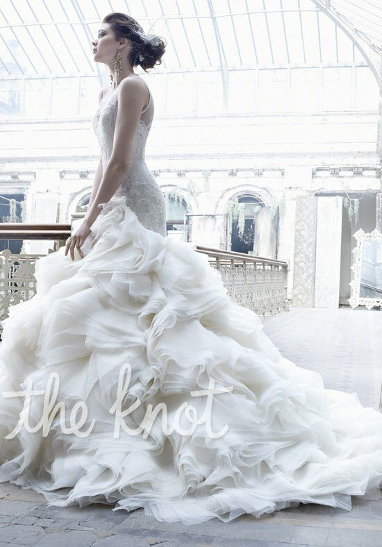 Lazaro 3253 wedding dress the knot for Where to buy lazaro wedding dresses