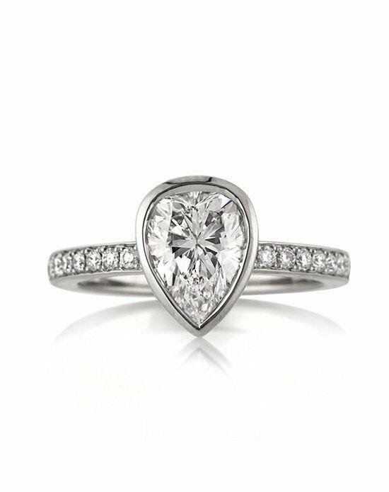 Mark Broumand 1.93ct Pear Shaped Diamond Engagement ...