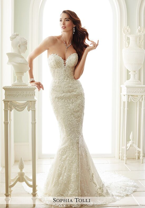 Sophia Tolli Y21671 Milano Wedding Dress The Knot