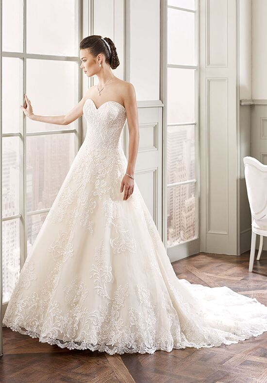 eddy k md 176 wedding dress the knot