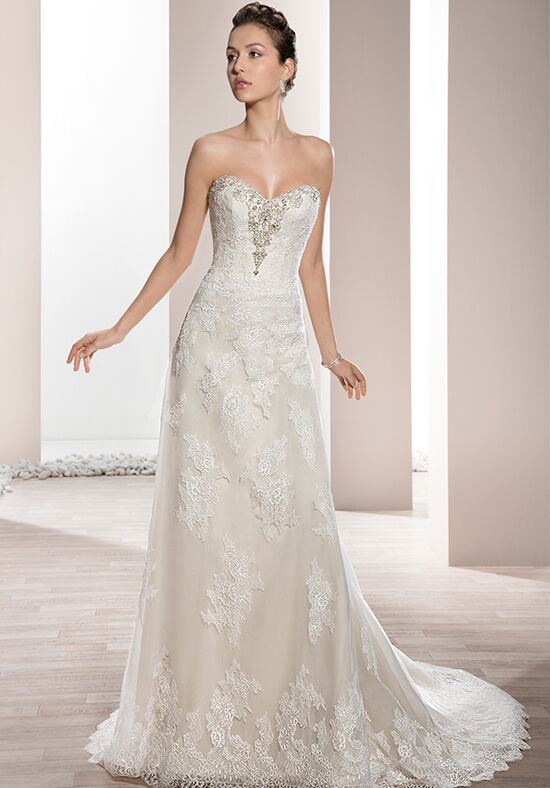 Demetrios 658 wedding dress the knot for Wedding registry the knot