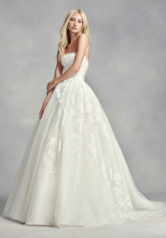white by vera wang white by vera wang style vw351297 wedding dress the knot