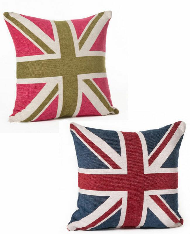 From Colorful Throw Pillows To Bold Rugs We Ve Rounded Up Our Favorite Union Jack Decor Items For The Home Once You Re Done With All Of That Redecorating