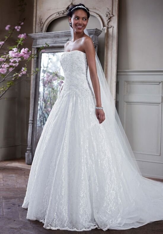 david 39 s bridal david 39 s bridal collection style wg3561 wedding dress