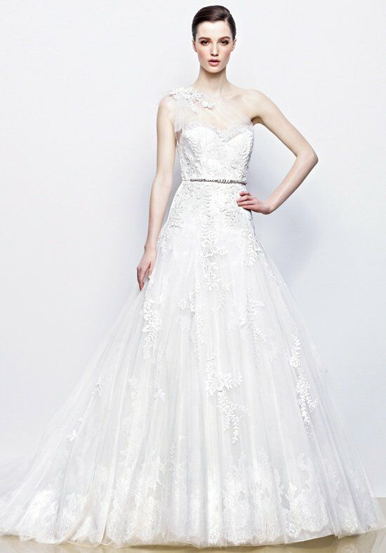 Enzoani isadora wedding dress the knot for The knot gift registry