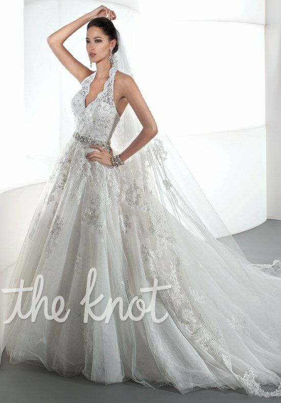 Demetrios 1441 wedding dress the knot for Wedding dresses the knot