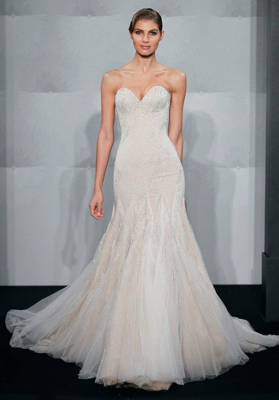 Mark zunino for kleinfeld 58 wedding dress the knot for Wedding dresses the knot
