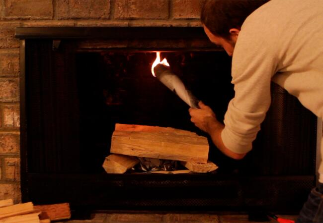 How To Make A Fire For The Holidays