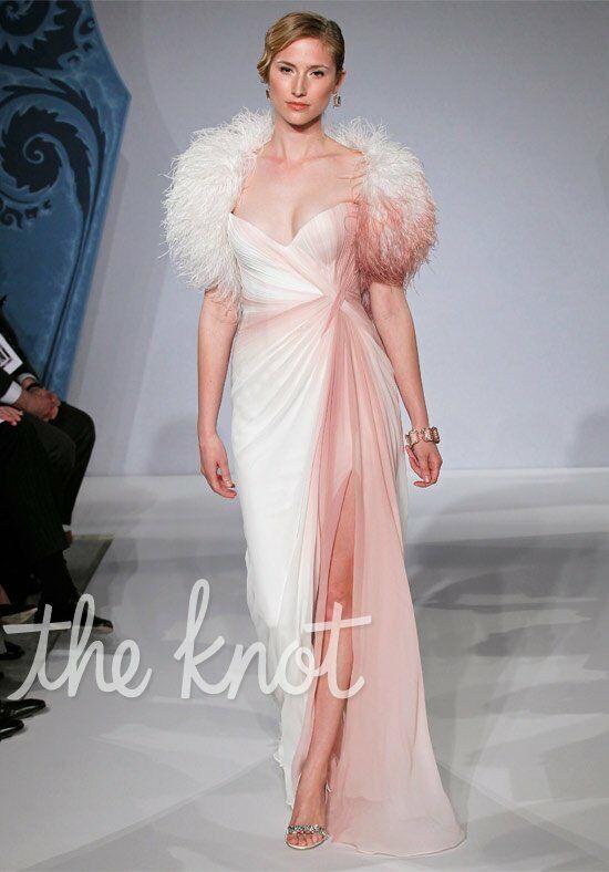 Mark zunino for kleinfeld 1237 wedding dress the knot for The knot gift registry