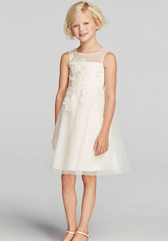 Davids Bridal Flower Girl Dress Wg1267 : David s bridal flower girl wg dress the knot