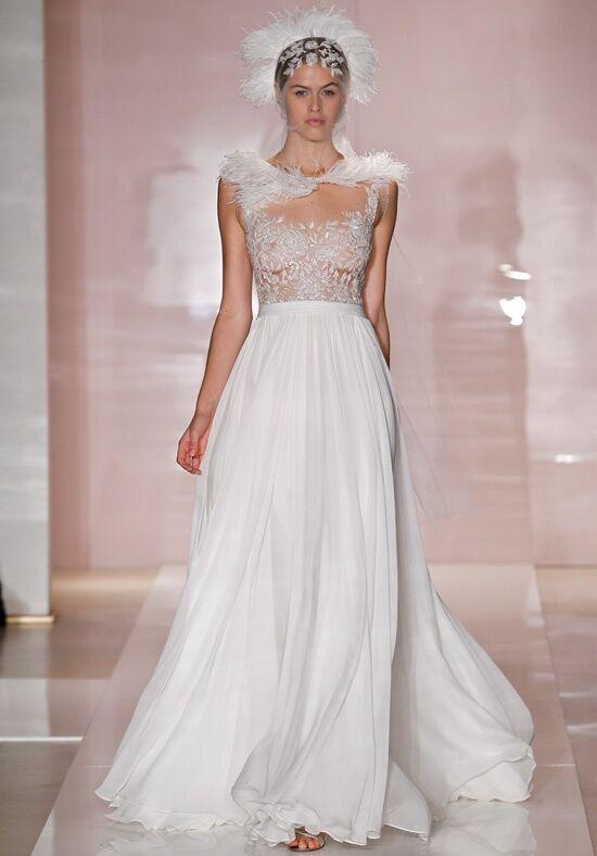 reem acra juliet wedding dress the knot