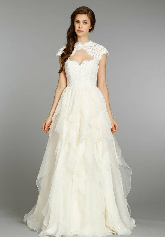 Hayley paige 6353 kira wedding dress the knot for Wedding dresses the knot