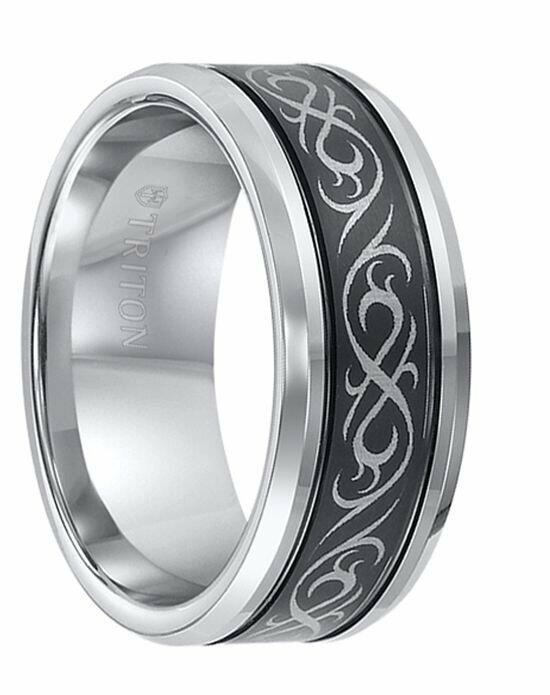 larson jewelers dominus domed tungsten carbide ring 2