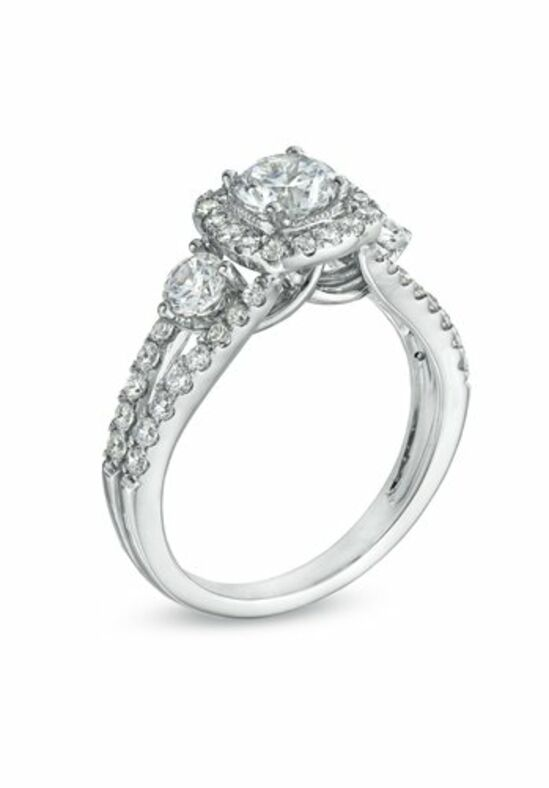 celebration diamond collection at zales celebration grand 1 58 ct tw diamond three stone engagement ring in 14k white gold ii1 19396928 wedding ring - Wedding Rings At Zales