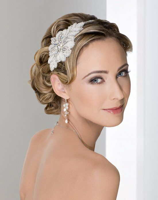 Wedding Makeup The Knot : Bel Aire Bridal 6267 Wedding Headband - The Knot
