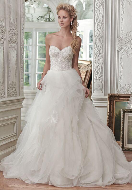 maggie sottero wedding dress kamiya. wyatt. maggie sottero wedding ...
