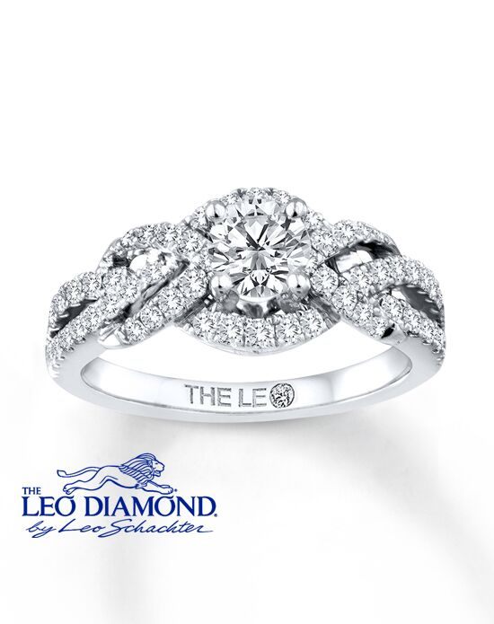 The Leo Diamond 991264918 Engagement Ring The Knot