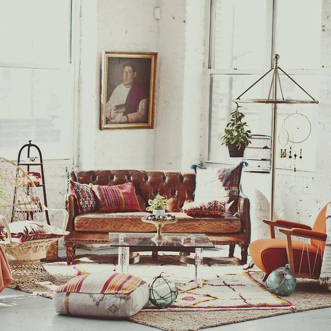 Factory In Brooklyn NYs Bushwick Neighborhood Home Which Is Pretty Cool And Of Itself Houses Corrin Arasas Unparalleled Collection Vintage
