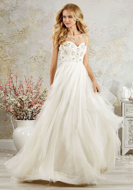 Alfred angelo modern vintage bridal collection 5000 for D angelo wedding dresses