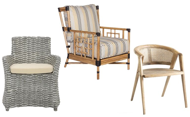 These Chairs Prove That Rattan Furniture Can Look Both Modern And  Sophisticated In Your Home; Try One Anywhere (not Just Your Sunroom!)