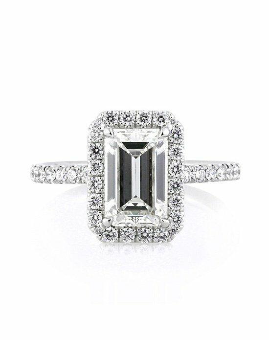 Mark Broumand 2.65ct Emerald Cut Diamond Engagement Ring ...