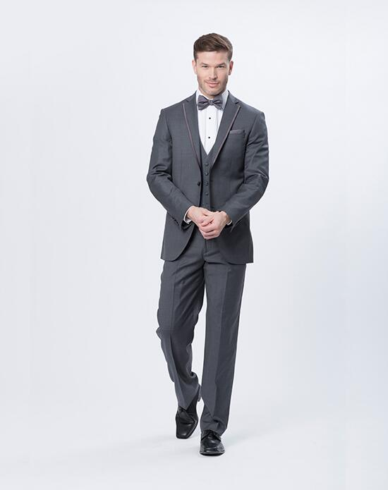 XEDO Justin Alexander Storm Gray Tux Wedding Tuxedos + Suit photo