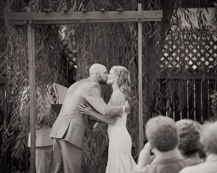 Sharon and Eric First Kiss