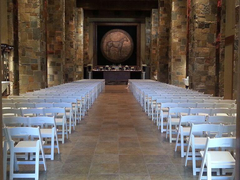 Wedding venue in Amarillo, Texas.