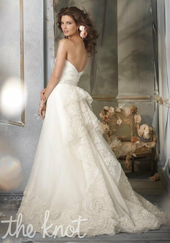 Jim hjelm jh8002 wedding dress the knot for The knot gift registry