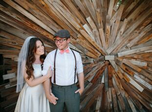 Katie Uhrich (20) andDustyn LaBarbera (20) envisioned having an outdoor wedding with a