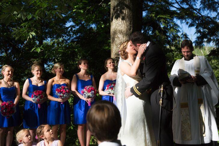 Liz and Decran's Family Farm Wedding