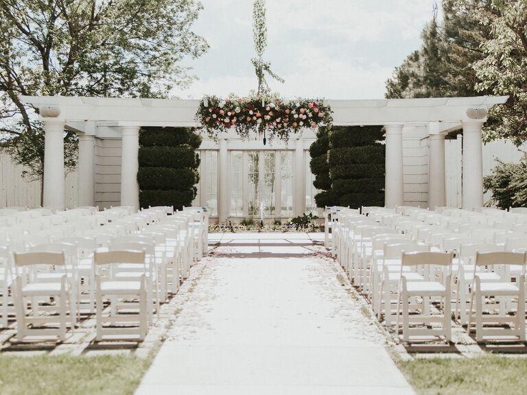 Wedding venue in Lafayette, Colorado.
