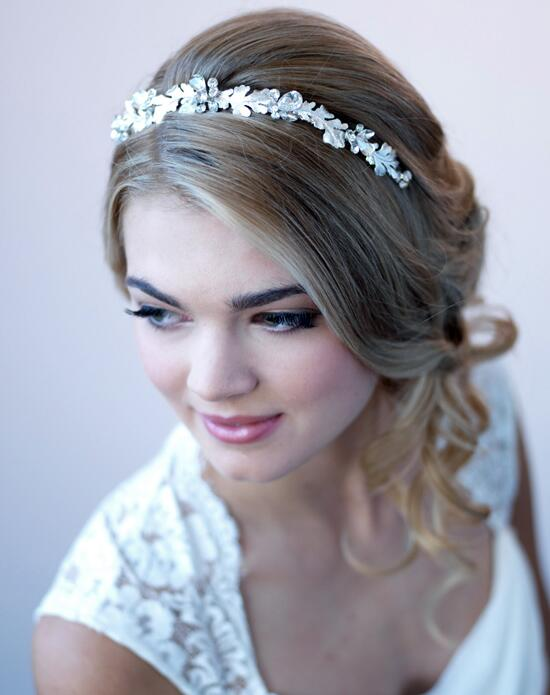 USABride Jolie Crystal & Leaf Headband Wedding Headbands photo