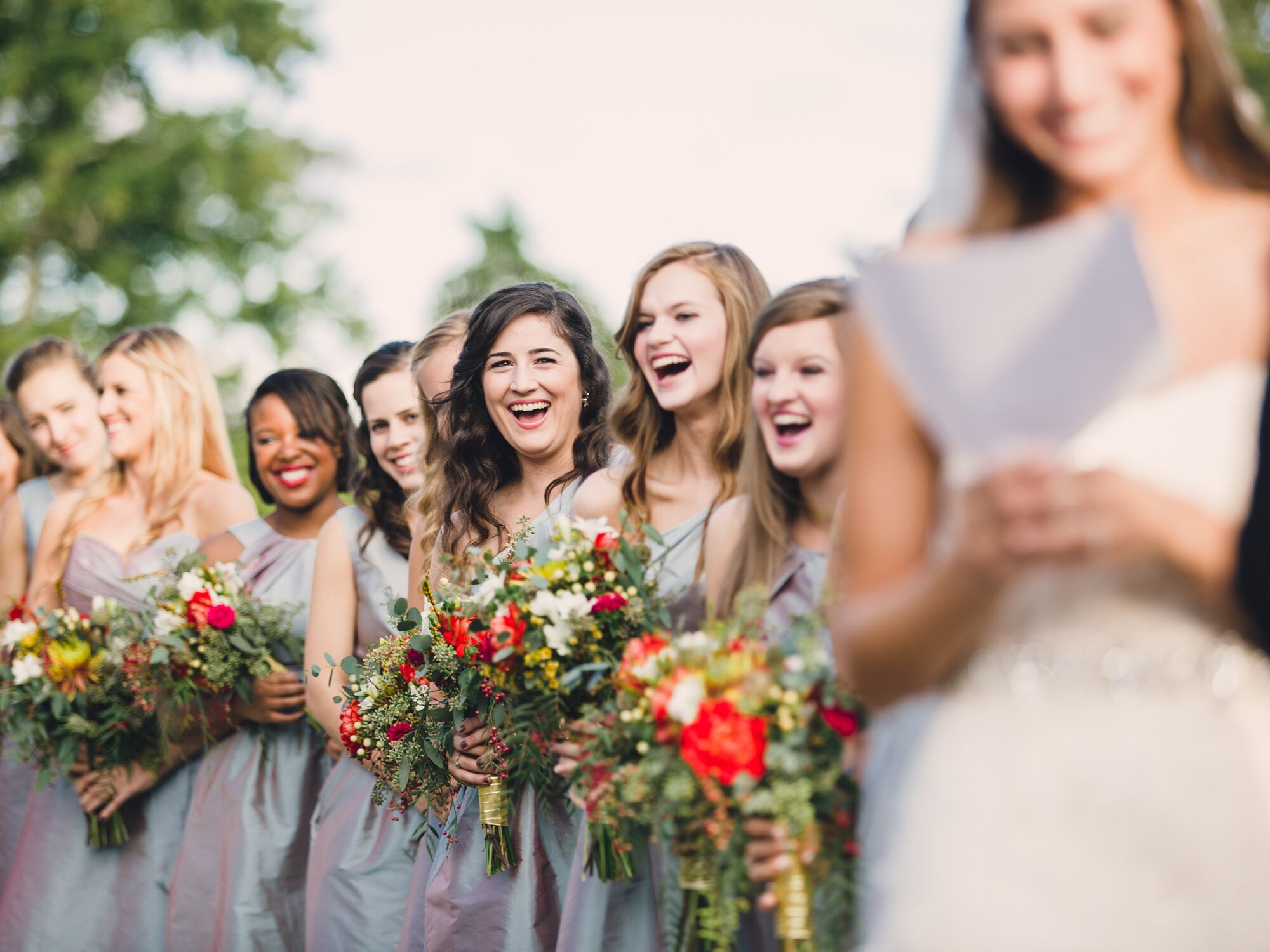 12 Ways to Keep Your Bridesmaids Happy