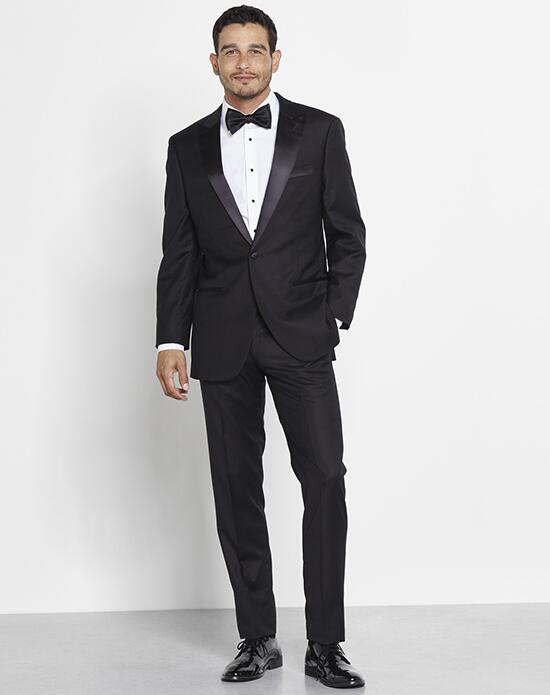 The Black Tux Peaked Lapel Tuxedo Wedding Tuxedos + Suit photo